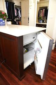 Small Desk Refrigerator Astounding The Mini Fridge Makeover Office Space Small Office