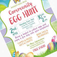 easter brunch invitations easter egg hunt flyer invitation poster template church school