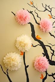 3d Wall Decor by 5 Mini Tissue Paper Pom Poms Wall Decor Nursery Decor 3d