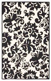 Damask Kitchen Rug Black And Turquoise Area Rugs Black And White Damask Rug Turq