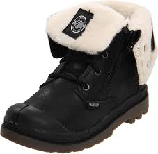 s boots with fur amazon com palladium baggy leather s boot toddler kid