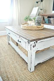 Best 20 Farmhouse Table Ideas by Antique White Harvest Coffee Table Ideas For Refinishing An Old