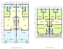 two story apartment floor plans floor plan of a four bedroom two story house archives