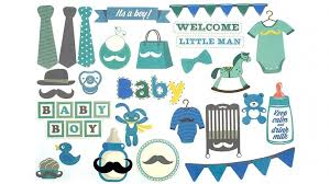 instax scrapbook card cut outs baby boy instax crafting