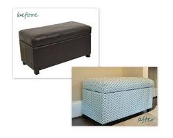Cheap Ottoman Bench Guyer Family Blog Ottoman Before And After I Have This Very Same