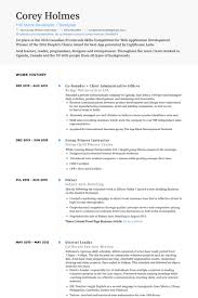 Sample Resume For Gym Instructor by Administrative Resume Samples Visualcv Resume Samples Database