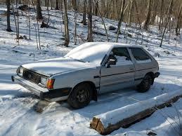 green subaru hatchback lifted 1987 subaru gl hatchback thediyguy