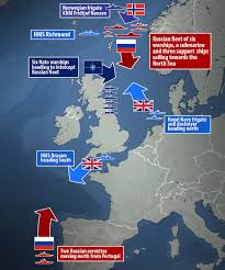 Map Of Russia And Syria by This Is U0027it U0027 Russia Deploys The Whole Northern Fleet To Syria For War