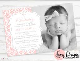 Baptismal Invitation Card Design Christening U0026 Baptism Invitations