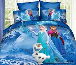 bed in a bag buy frozen 3d cartoon kids bedding sets elsa anna