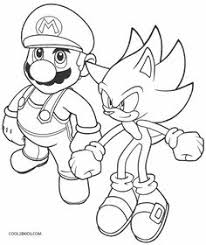 printable sonic coloring pages kids cool2bkids video game