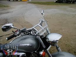 honda vtx windvest motorcycle windshield applications