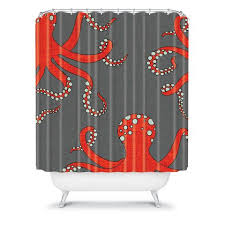 Navy And Red Shower Curtain Best 25 Red Shower Curtains Ideas On Pinterest Red Bathroom
