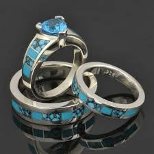 Turquoise Wedding Rings by 8 Best Images About Turquoise Engagement Rings On Pinterest