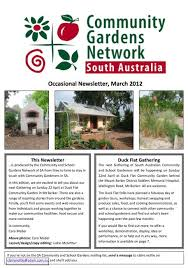 sa community u0026 garden network u0027s latest newsletter u2013 acfcgn