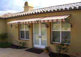Awning For Mobile Home 4300 Fabric Window Awnings Overhead Door