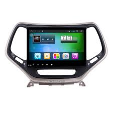 jeep cherokee cartoon 10 2 inch android 6 0 touch screen radio bluetooth gps navigation