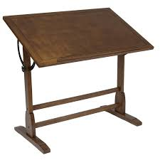 Drafting Craft Table Drafting Drawing Craft Table Studio Designs Vintage Oak 42 Inch