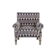 home decorators collection ivy geometric indigo kilim arm chair
