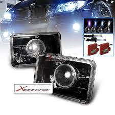 02 camaro headlights lhp 4x6jm hid by xtralights a clear black shade hid xenon bulb