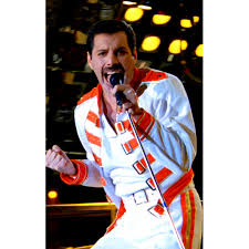 freddie mercury halloween costume mercury white jacket with red belts