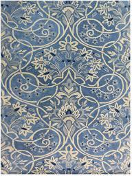 Blue Contemporary Rugs Amer Bombay Bom 2 Rug Denim Blue Contemporary Area Rugs By