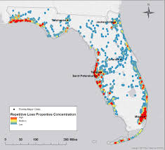 Cities In Florida Map by Flood Risk Study Identifies Priorities For Property Buyouts