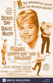 daisies film doris day film poster please don u0027t eat the daisies 1959 stock