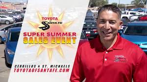 memorial day toyota deals super summer july 4th at toyota of santa fe new mexico toyota