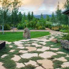 great garden paths sunset