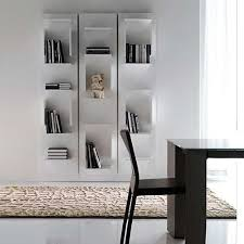White Modern Bookshelves by Bookshelf Astonishing Modern Book Case Inspiring Modern Book