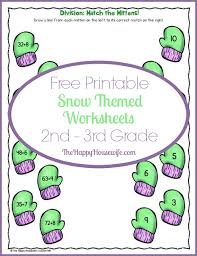 snow themed worksheets free printables the happy housewife