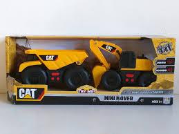 amazon com cat mini mover dump truck u0026 excavator construction toy