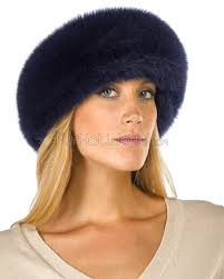 blue headband navy blue fox fur headband furhatworld