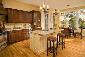 american value cabinets kitchen traditional with terra cotta pots