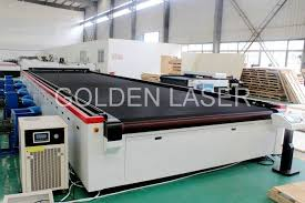 Laser Cutting Table Aircraft Carpet Laser Cutting Machine Golden Laser