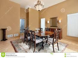 pareti sala da pranzo sala da pranzo con le pareti fotografia stock immagine di