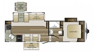 Cougar 5th Wheel Floor Plans Keystone Cougar Xlite 27rks 5th Wheel Sales