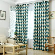 navy patterned curtains promotion shop for promotional navy