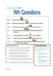 english teaching worksheets wh questions