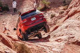 jeep grand cherokee trailhawk off road jeep grand cherokee trailhawk 2017 erste fahrt test im gelände