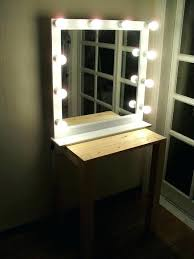 wall mounted hardwired lighted makeup mirror lighted vanity mirror wall mount mirror led vanity mirror wall