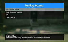 kenworth w700 trucking missions gta5 mods com