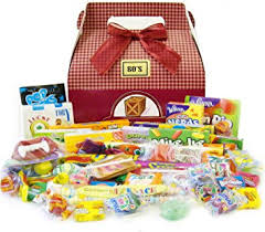 Candy Gift Basket Amazon Com Candy Crate 1980 U0027s Retro Candy Gift Box Gourmet