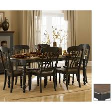 shop homelegance ohana wood extending dining table at lowes com