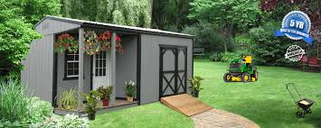 elite cabin and side porch bennett building systems