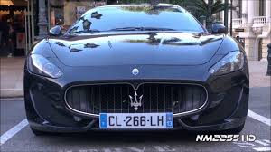 maserati maroon maserati granturismo s best sound with loop control youtube