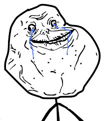 Alone Memes - image 4char forever alone guy high resolution png teh meme wiki