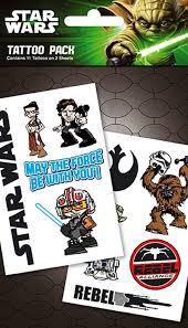 star wars temporary tattoos rebel pack amazon co uk kitchen u0026 home