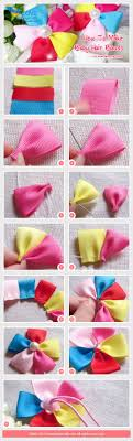 baby hair ties how to make baby ribbon hair ties flores de tela